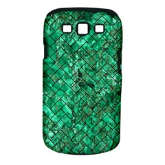 Brick2 Black Marble & Green Marble (r) Samsung Galaxy S Iii Classic Hardshell Case (pc+silicone) by trendistuff