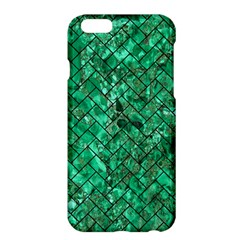 Brick2 Black Marble & Green Marble (r) Apple Iphone 6 Plus/6s Plus Hardshell Case