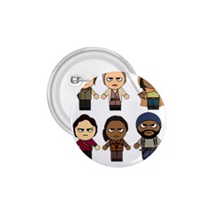The Walking Dead   Main Characters Chibi   Amc Walking Dead   Manga Dead 1 75  Buttons by PTsImaginarium