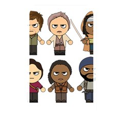 The Walking Dead   Main Characters Chibi   Amc Walking Dead   Manga Dead Memory Card Reader by PTsImaginarium