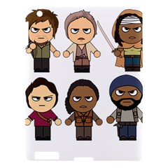 The Walking Dead   Main Characters Chibi   Amc Walking Dead   Manga Dead Apple Ipad 3/4 Hardshell Case by PTsImaginarium