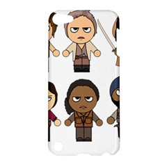 The Walking Dead   Main Characters Chibi   Amc Walking Dead   Manga Dead Apple Ipod Touch 5 Hardshell Case by PTsImaginarium
