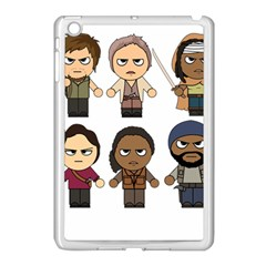 The Walking Dead   Main Characters Chibi   Amc Walking Dead   Manga Dead Apple Ipad Mini Case (white) by PTsImaginarium