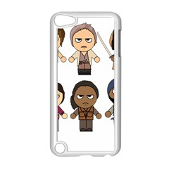 The Walking Dead   Main Characters Chibi   Amc Walking Dead   Manga Dead Apple Ipod Touch 5 Case (white)