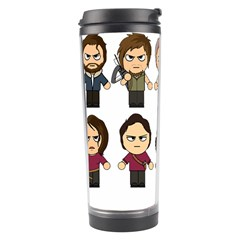 The Walking Dead   Main Characters Chibi   Amc Walking Dead   Manga Dead Travel Tumbler by PTsImaginarium