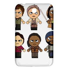 The Walking Dead   Main Characters Chibi   Amc Walking Dead   Manga Dead Samsung Galaxy Tab 3 (7 ) P3200 Hardshell Case  by PTsImaginarium