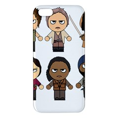 The Walking Dead   Main Characters Chibi   Amc Walking Dead   Manga Dead Iphone 5s/ Se Premium Hardshell Case by PTsImaginarium