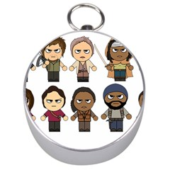 The Walking Dead   Main Characters Chibi   Amc Walking Dead   Manga Dead Silver Compasses by PTsImaginarium