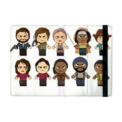 The Walking Dead   Main Characters Chibi   Amc Walking Dead   Manga Dead Ipad Mini 2 Flip Cases by PTsImaginarium