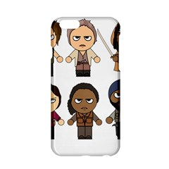 The Walking Dead   Main Characters Chibi   Amc Walking Dead   Manga Dead Apple Iphone 6/6s Hardshell Case by PTsImaginarium