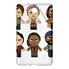 The Walking Dead   Main Characters Chibi   Amc Walking Dead   Manga Dead Samsung Galaxy Tab 4 (8 ) Hardshell Case