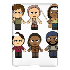 The Walking Dead   Main Characters Chibi   Amc Walking Dead   Manga Dead Samsung Galaxy Tab S (10 5 ) Hardshell Case  by PTsImaginarium