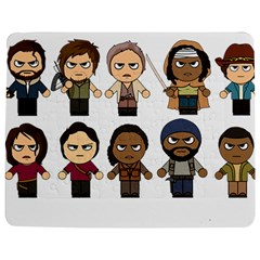 The Walking Dead   Main Characters Chibi   Amc Walking Dead   Manga Dead Jigsaw Puzzle Photo Stand (rectangular) by PTsImaginarium