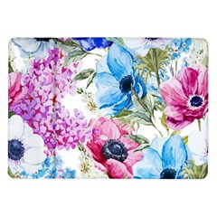 Watercolor Spring Flowers Samsung Galaxy Tab 10 1  P7500 Flip Case by TastefulDesigns