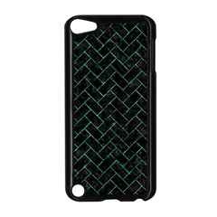 Brick2 Black Marble & Green Marble Apple Ipod Touch 5 Case (black) by trendistuff