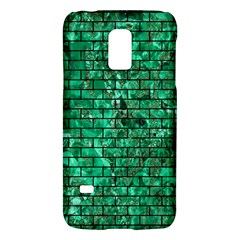 Brick1 Black Marble & Green Marble (r) Samsung Galaxy S5 Mini Hardshell Case  by trendistuff