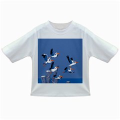 Abstract Pelicans Seascape Tropical Pop Art Infant/toddler T-shirts by WaltCurleeArt
