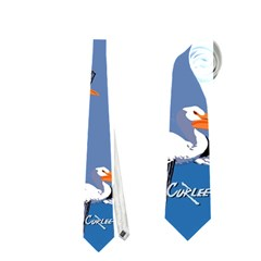 Abstract Pelicans Seascape Tropical Pop Art Neckties (one Side)  by WaltCurleeArt