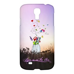 Love Is In The Air Illustration Samsung Galaxy S4 I9500/i9505 Hardshell Case