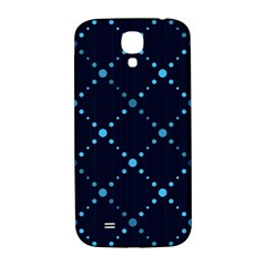 Seamless Geometric Blue Dots Pattern  Samsung Galaxy S4 I9500/i9505  Hardshell Back Case