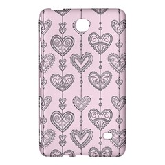 Sketches Ornamental Hearts Pattern Samsung Galaxy Tab 4 (8 ) Hardshell Case  by TastefulDesigns