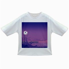 Abstract Tropical Birds Purple Sunset  Infant/toddler T-shirts by WaltCurleeArt