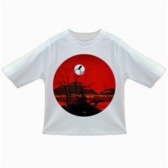 Tropical Birds Orange Sunset Landscape Infant/toddler T-shirts by WaltCurleeArt