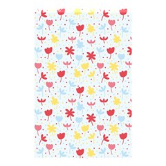 Seamless Colorful Flowers Pattern Shower Curtain 48  X 72  (small)  by TastefulDesigns