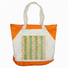 Seamless Colorful Dotted Pattern Accent Tote Bag by TastefulDesigns