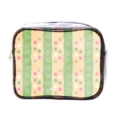 Seamless Colorful Dotted Pattern Mini Toiletries Bags by TastefulDesigns