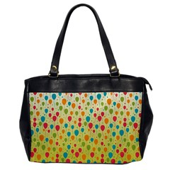Colorful Balloons Backlground Office Handbags by TastefulDesigns