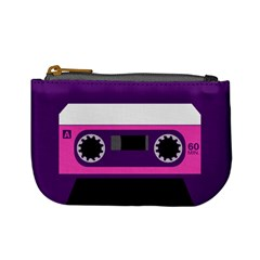 Cute Cassette Coin Change Purse by Ellador