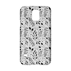 Hand Painted Floral Pattern Samsung Galaxy S5 Hardshell Case  by TastefulDesigns