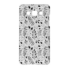 Hand Painted Floral Pattern Samsung Galaxy A5 Hardshell Case  by TastefulDesigns