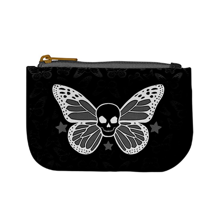 Butterfly Skull Coin Change Purse