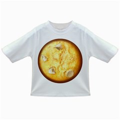 White Chocolate Chip Lemon Cookie Novelty Infant/toddler T-shirts by WaltCurleeArt