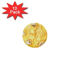 White Chocolate Chip Lemon Cookie Novelty 1  Mini Buttons (10 Pack)  by WaltCurleeArt