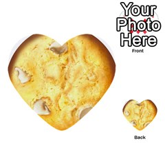 White Chocolate Chip Lemon Cookie Novelty Multi Purpose Cards (heart)