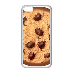 Chocolate Chip Cookie Novelty Apple Iphone 5c Seamless Case (white) by WaltCurleeArt