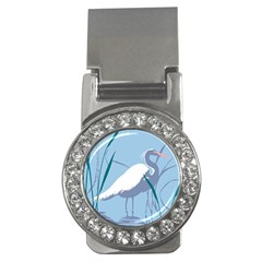 Egret Money Clips (cz)  by WaltCurleeArt