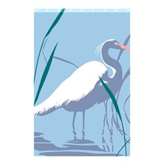 Egret Shower Curtain 48  X 72  (small)