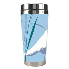 Egret Stainless Steel Travel Tumblers by WaltCurleeArt