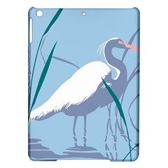Egret Ipad Air Hardshell Cases by WaltCurleeArt