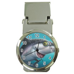 Sharky Money Clip Watches by WaltCurleeArt