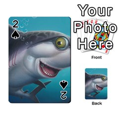 Sharky Playing Cards 54 Designs  by WaltCurleeArt
