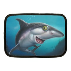 Sharky Netbook Case (medium)  by WaltCurleeArt