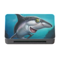 Sharky Memory Card Reader With Cf by WaltCurleeArt