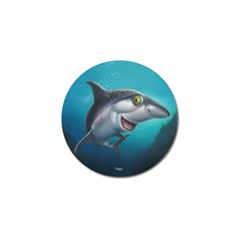 Sharky Golf Ball Marker (10 Pack)