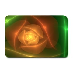 Orange Rose Plate Mats by Delasel
