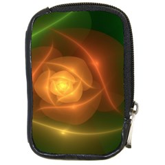 Orange Rose Compact Camera Cases by Delasel